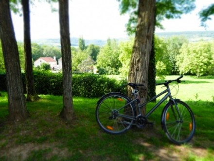 A Family Day Trip Cycling in the Burgundy Region of France