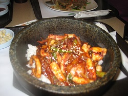 Korean food at Sobon Restaurant Photo credit: Anuja De Silva/Cosmopolitan TravelingMom