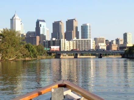 Philadelphia now has one-hour river boat tours (photo Sarah Ricks)