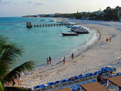 Romantic travel deal to Playa del Carmen in Mexico's Riviera Maya. Photo: Diana Rowe