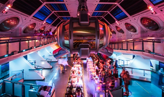 Disneyland's Space Mountain