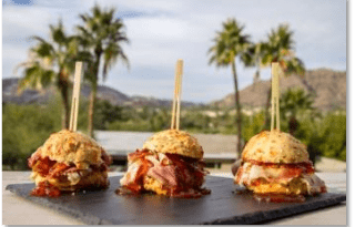 Ham & Jam Sliders at the Sanctuary