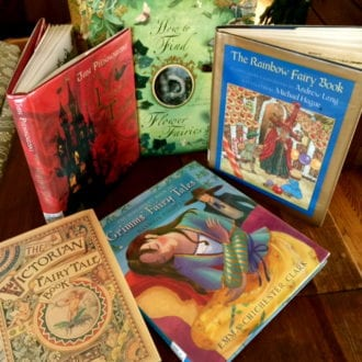 Fairy tale books are multi gen, multi-cultural and artistic. Photo by Christine Tibbetts,Blended Family TravelingMom