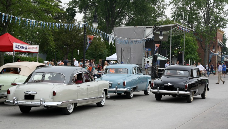 Vintage Cars at Greenfield Village/Henry Ford Museum. Photo by Mary Moore / Retro TravelingMom