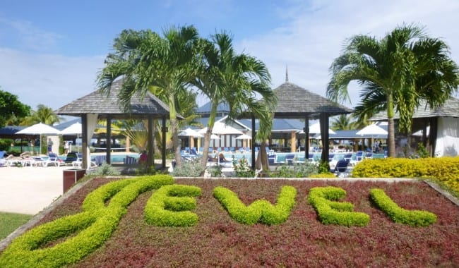 Photo by Jamie Bartosch/Suburban TravelingMom Jewel Runaway Bay in Jamaica is opening a new water park in March 2015, adding to its already family-friendly atmosphere.