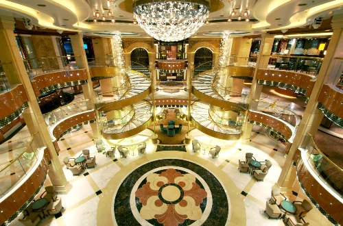 Regal Princess Family friendly cruise ship