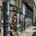 Photo by Jamie Bartosch/Suburban TravelingMom Art Alley is one of the cool features in downtown Rapid City, South Dakota.