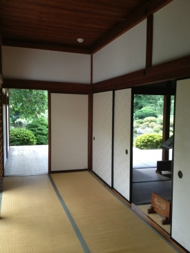 Inside the Japanese House in Philadelphia.