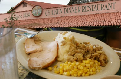 Meals made for two (or more!) at Mrs Knott's Chicken Dinner Restaurant