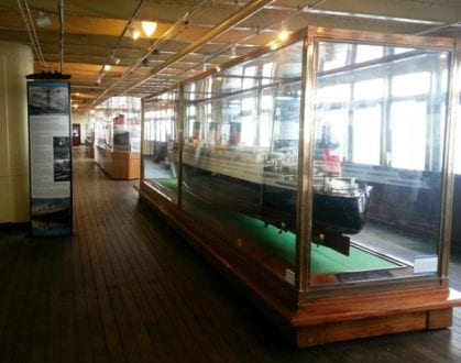 Model Ship Gallery. Photo credit: Gwen Kleist, Healthy TravelingMom.