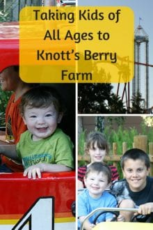 Taking Kids of All Ages to Knott's Berry