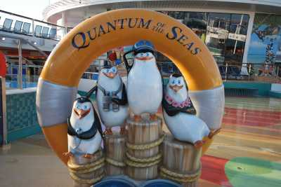 Royal Caribbean's Family-Friendly Quantum of the Seas Smart Ship