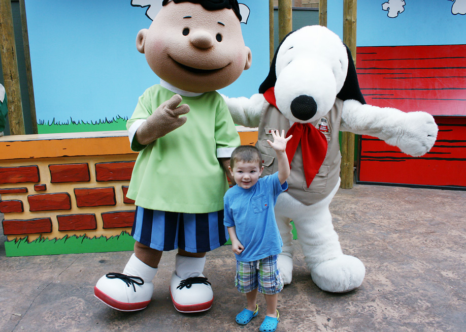 A Meet n' Greet with the Peanuts Gang, including Snoopy! Photo credit: Julie Bigboy/Day Trips TravelingMom