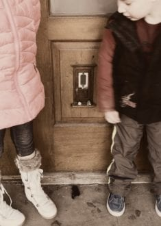 Urban Fairy Doors in Ann Arbor, Michigan
