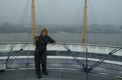 Getting High in London – Climbing Up at the O2 Dome