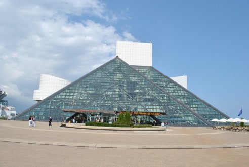 Rocking the Rock and Roll Hall of Fame in Cleveland Ohio