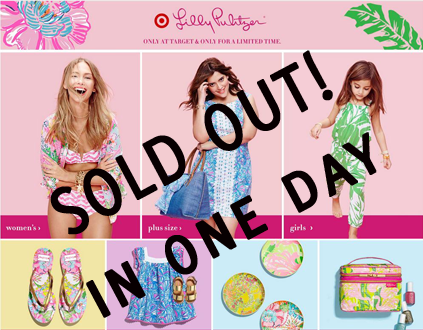 Travel Fashion but Lilly Pulitzer at Target sold out in one day!