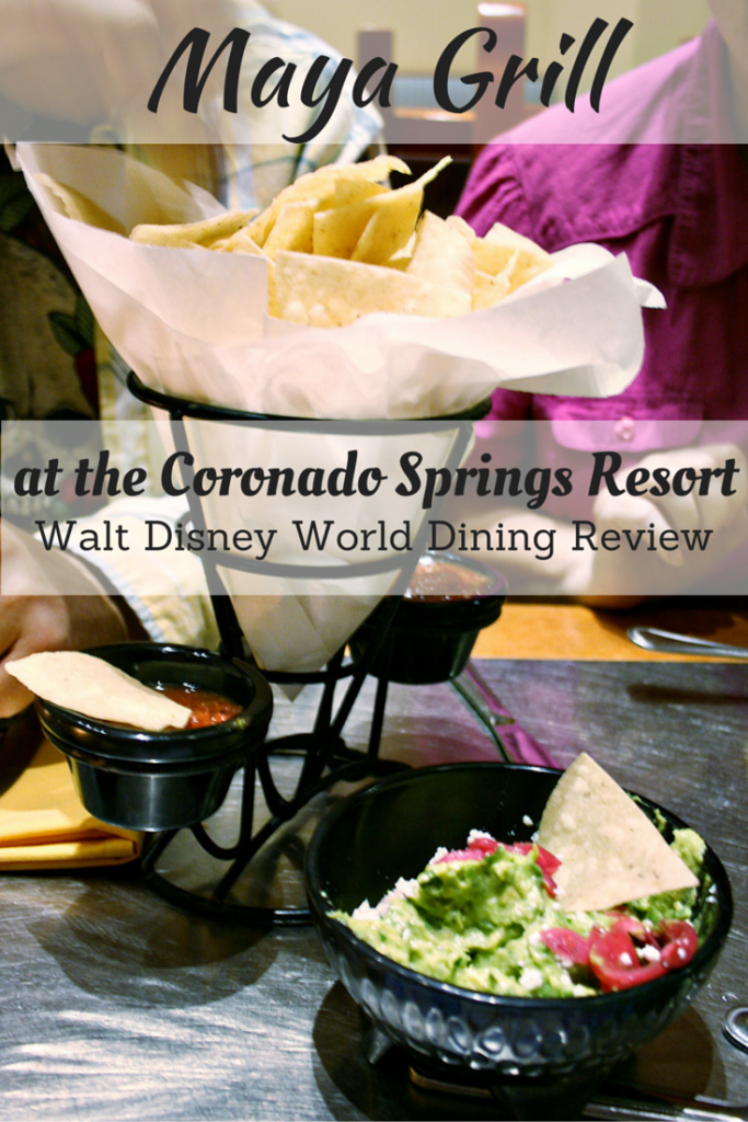 Maya Grill at the Coronado Springs Resort - Walt Disney World Dining Review
