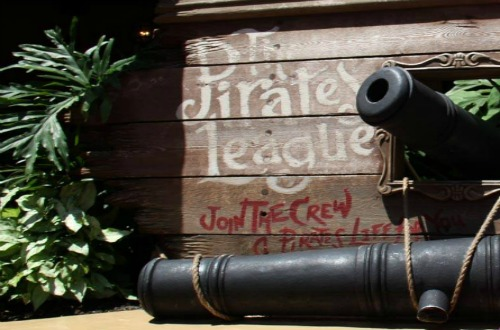 The Pirates League Sign