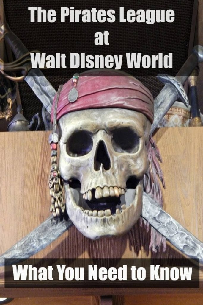 The Pirates League at Walt Disney World: What you Need to Know