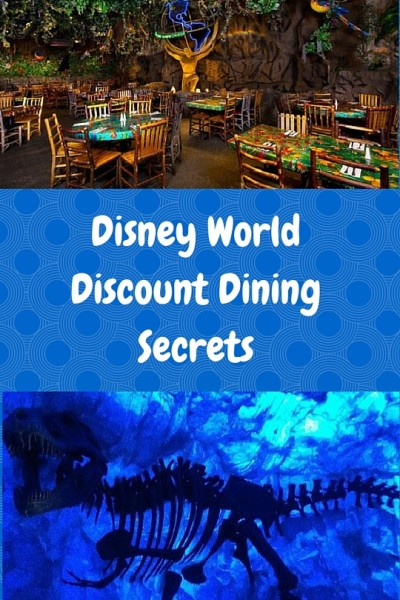 The Secret Disney WorldDiscount Dining Program