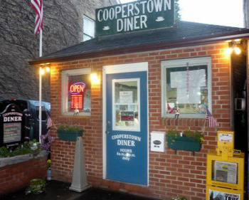 Cooperstown Diner, Photo by Terri Marshall