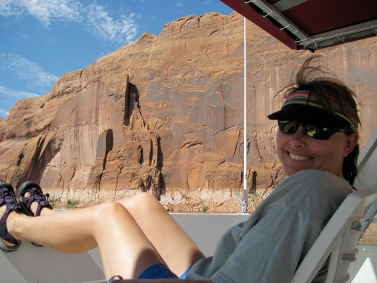 trash tracker lake Powell
