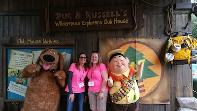 Character Encounter in Discovery Island at Disney's Animal Kingdom Theme Park
