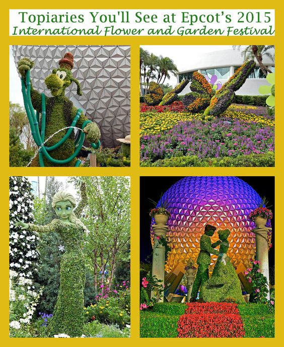 Topiaries You'll See at Epcot's 2015 International Flower and Garden Festival
