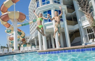 Travel deals for your summer vacation. Photo: Crown Beach Reef Resort and Waterpark