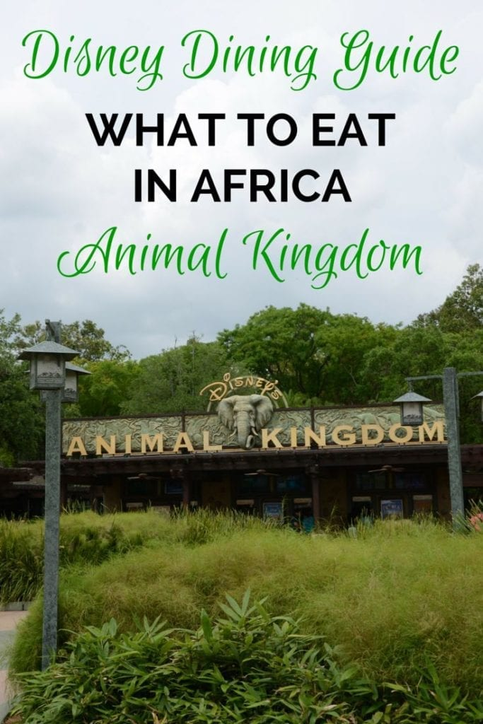 Disney Parks' Animal Kingdom: Dining Options in Africa