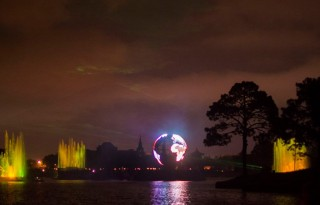 Epcot's IllumiNations Show.  Photo by Jennifer Acocella