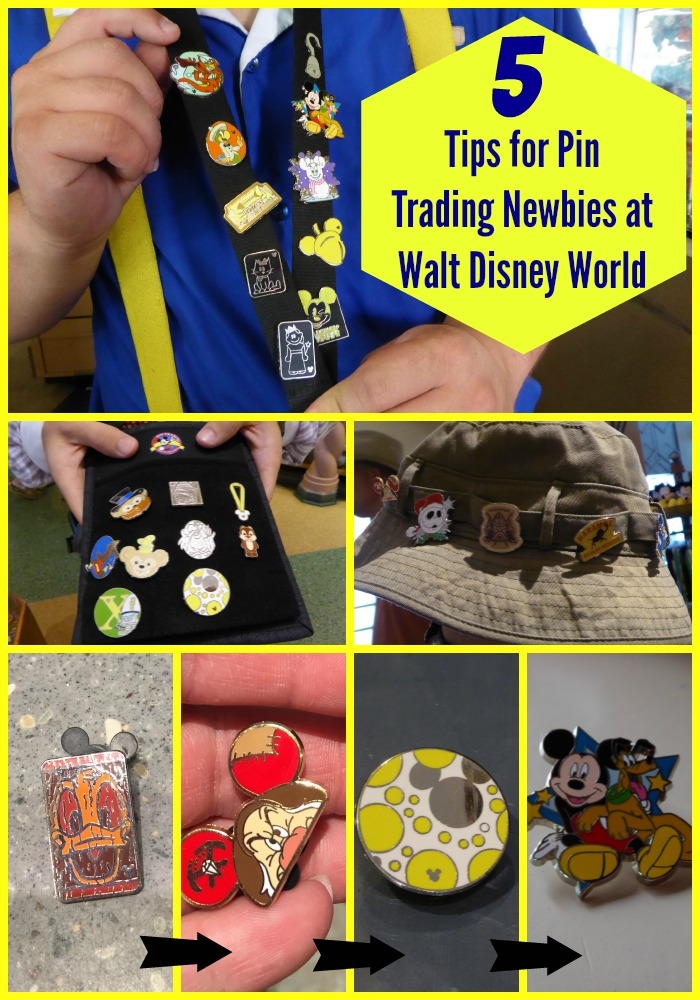 On your next Disney World trip, try pin trading with your kids. Here are 5 helpful tips for pin trading newbies!