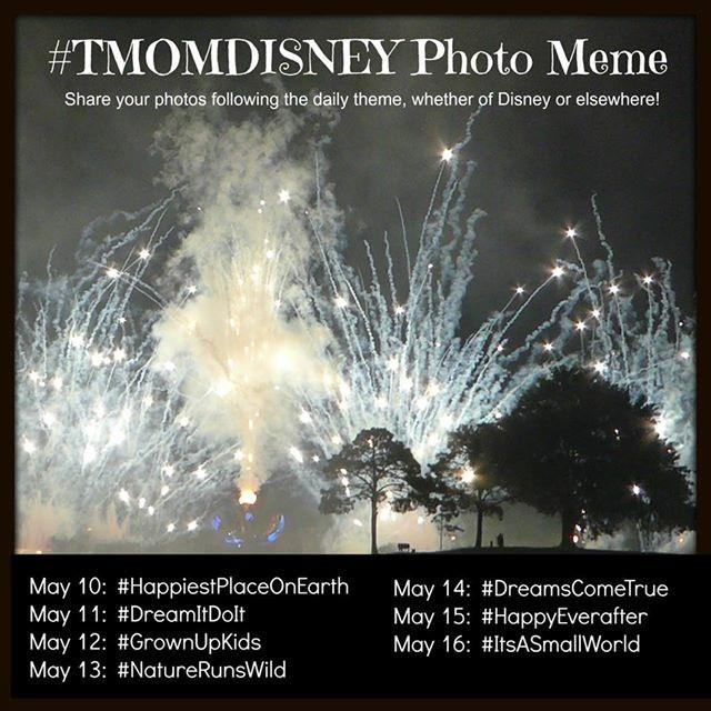 Celebrate Disney Parks Magic – #TMOMDisney Instagram Meme