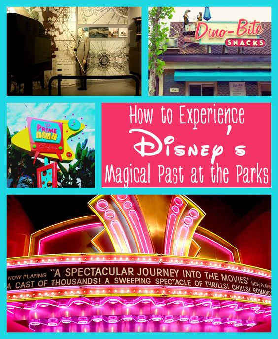 How to experience Disney's Magical Past at the Parks