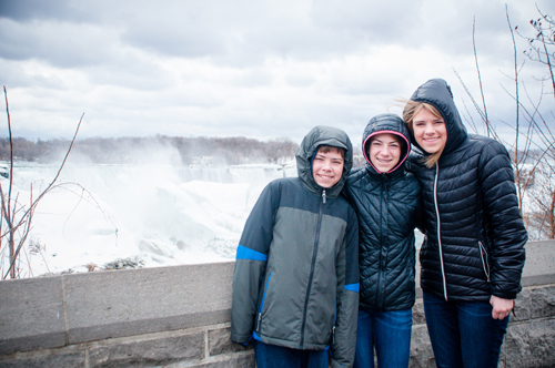 Visiting Niagara Falls Photo Credit: Carissa Rogers