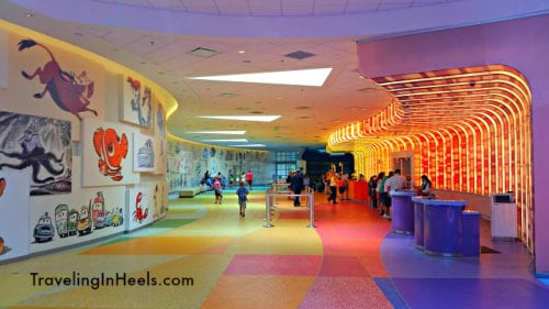 The lobby of Disney's Art of Animation Resort Photo: Diana Rowe / Traveling Grandmom