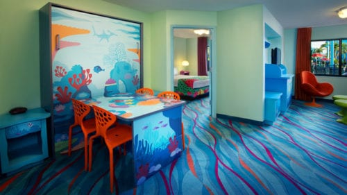 FInding Nemo Family Suite Photo: Disney's Art of Animation Resort