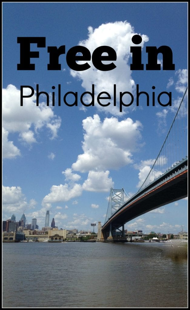 Philadelphia has lots of fun free options (Photo Philadelphia Traveling Mom Sarah Ricks)