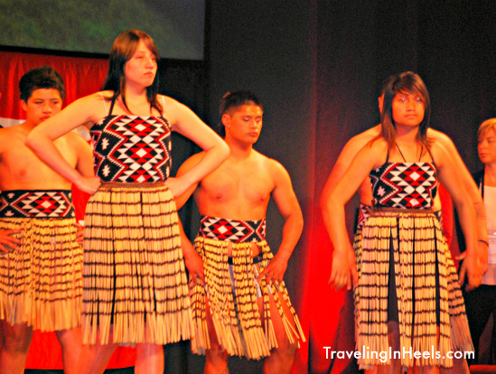 New Zealand Maori Traditional Welcome, Photo by Diana Rowe, Traveling Grandmom