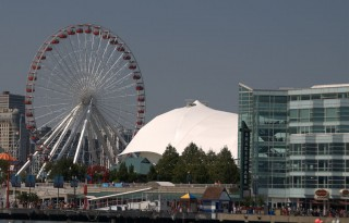 This Ferris wheel at Navy Pier is about to upgraded to a bigger, better, year-round Ferris wheel.