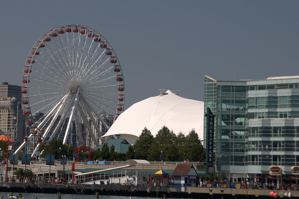 Navy Pier Ferris Wheel about to Get Bigger and Better