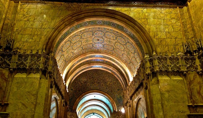 Woolworth Building Lobby - Photo: Angela Tiffin, History Buff Traveling Mom