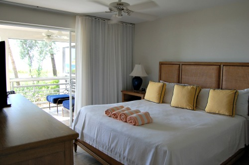 bedroom at Ocean Club Resort