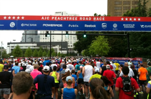 10 Race Day Tips for the AJC Peachtree Road Race