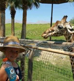 Ava at The Living Desert - Things to Do in Palm Springs