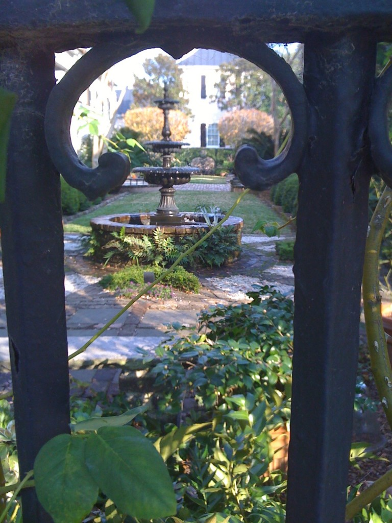 Garden close to downtown Charleston (Photo Philadelphia Traveling Mom Sarah Ricks)