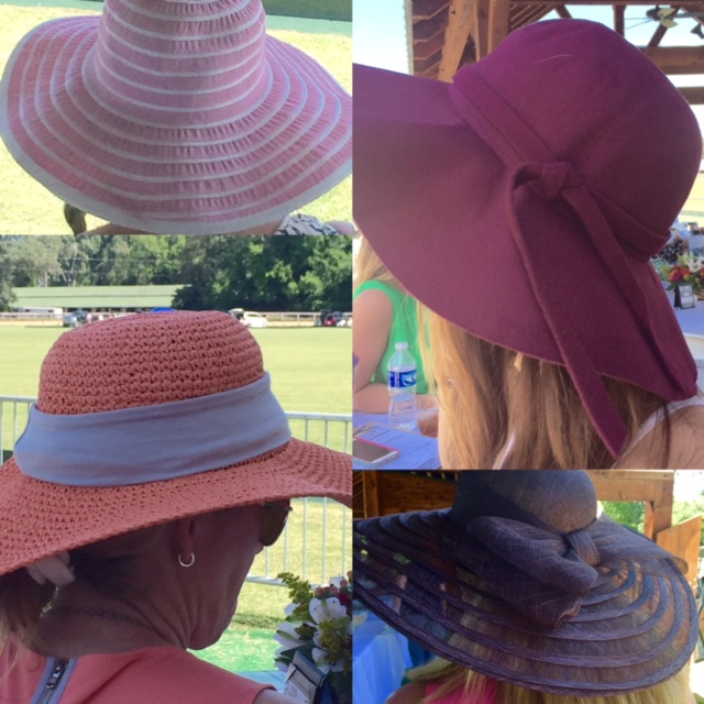 Polo watching hats