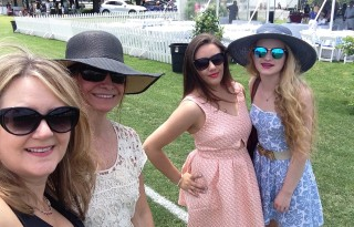 How to dress for a polo match in Connecticut.
