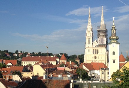 Zagreb and its Cathedral (photo Philadelphia Traveling Mom Sarah Ricks)
